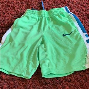 Nike elite boy shorts